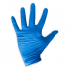 Blue LifeGuard Nitrile Food Gloves  - Large