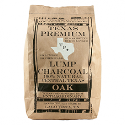 Texas Premium Lump Charcoal - Oak