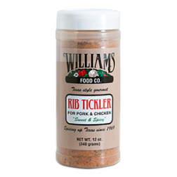 Williams Rib Tickler BBQ Rub - 12oz