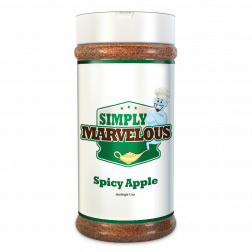 Simply Marvelous BBQ Rub Spicy Apple - 12.5oz
