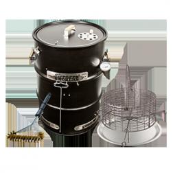 Big Poppa's Enhanced Drum Smoker Kit