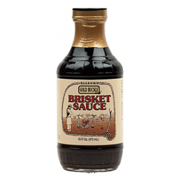 Allegro Gold Buckle Brisket Sauce - 16oz
