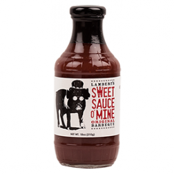 Sweet Sauce O' Mine Original Sauce 18oz.