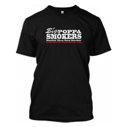 Big Poppa Smokers Classic Black T-Shirt