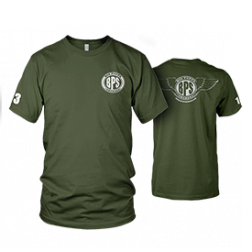 Big Poppa Smokers Green Mobile Command T-Shirt