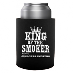 King of the Smoker Koozie