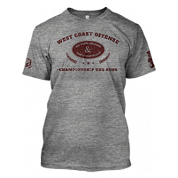 West Coast Offense BBQ T-Shirt