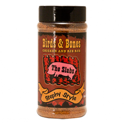 The Slabs Birds & Bones, Chicken & Rib Rub - 12.5oz