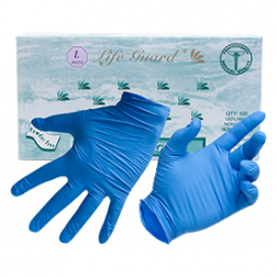 LifeGuard Blue Food Gloves (4 mil)