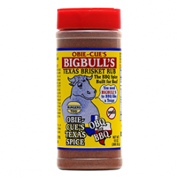 Obie Cue Big Bulls Brisket Rub - 13oz