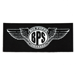 Big Poppa Smokers Wings Logo Patch