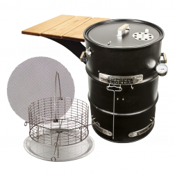 Big Poppa's All-in Drum Smoker Kit