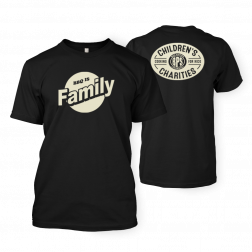 BBQ is Family Black T-shirt