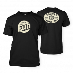 BBQ is Fun Black T-shirt