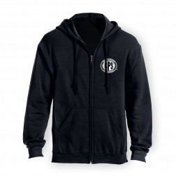 BPS Black  Zip-up Hoodie