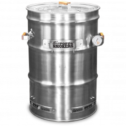 BPS 90% Assembled SS Drum Smoker Kit