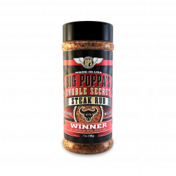 Big Poppa's Double Secret Steak Rub - 7oz