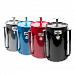 Gateway Drum Smoker with Logo Plate
