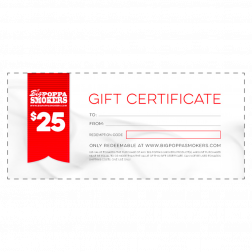 BPS GIFT CERTIFICATE - $25