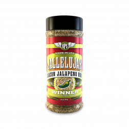 Jallelujah Jalapeno Bacon Rub - 6.6oz