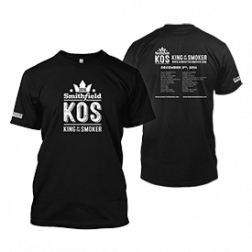 King of the Smoker 2016 T-Shirt