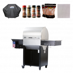 Big Poppa's MAK 2 Star Pellet Grill Special - 2017 Model w/Flashfire Ignition