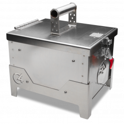 C4 Stainless Portable Grill