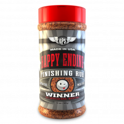Happy Ending BBQ Finishing Rub - 13oz
