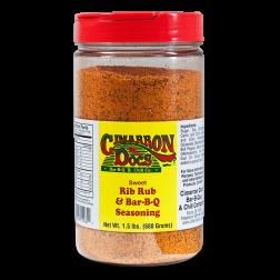 Cimarron Doc's Sweet Rib Rub & Seasoning - 1.5lbs