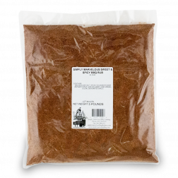 Simply Marvelous BBQ Sweet & Spicy BBQ Rub - 5lb Bag