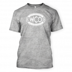 West Coast Offense Gray BBQ T-shirt