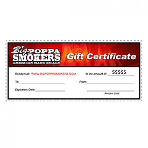 BPS Gift Certificates