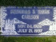 Priscilla S  'Mona' Carlson 1928 - 1997 BillionGraves Record