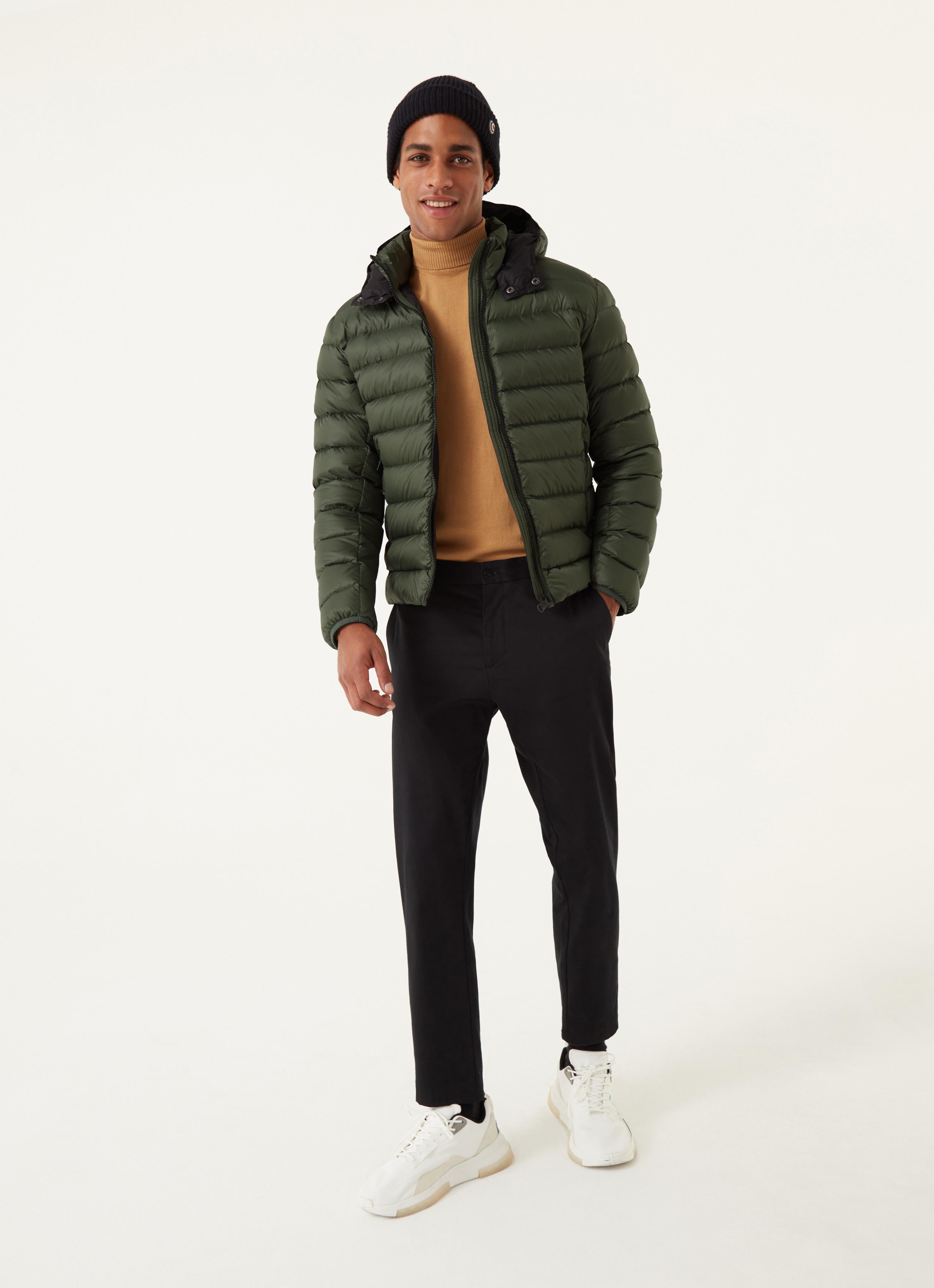 Piumino uomo verde militare Colmar   1250R5ST431