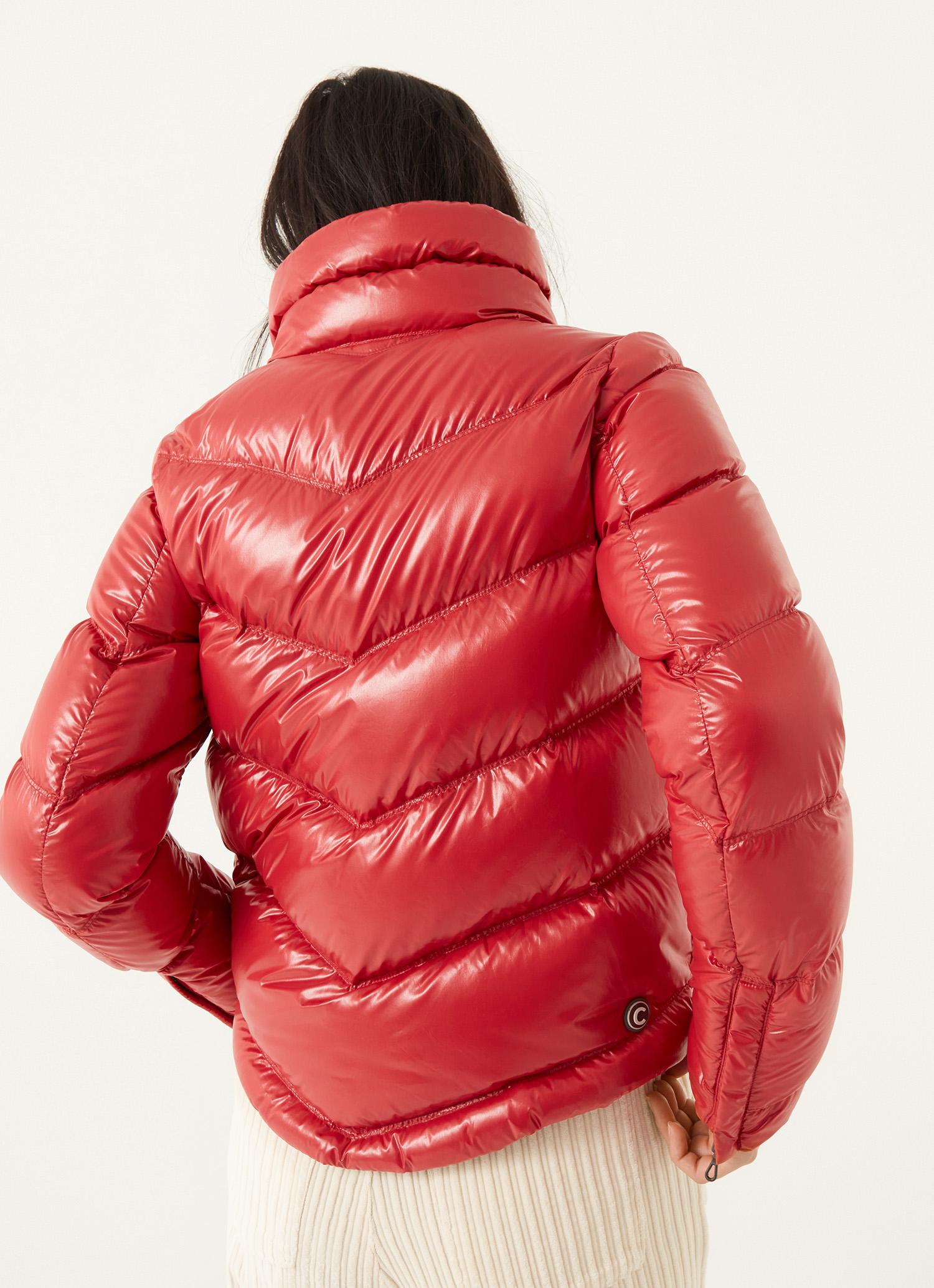 Piumino lucido donna rosso Colmar | 2230R5TW482