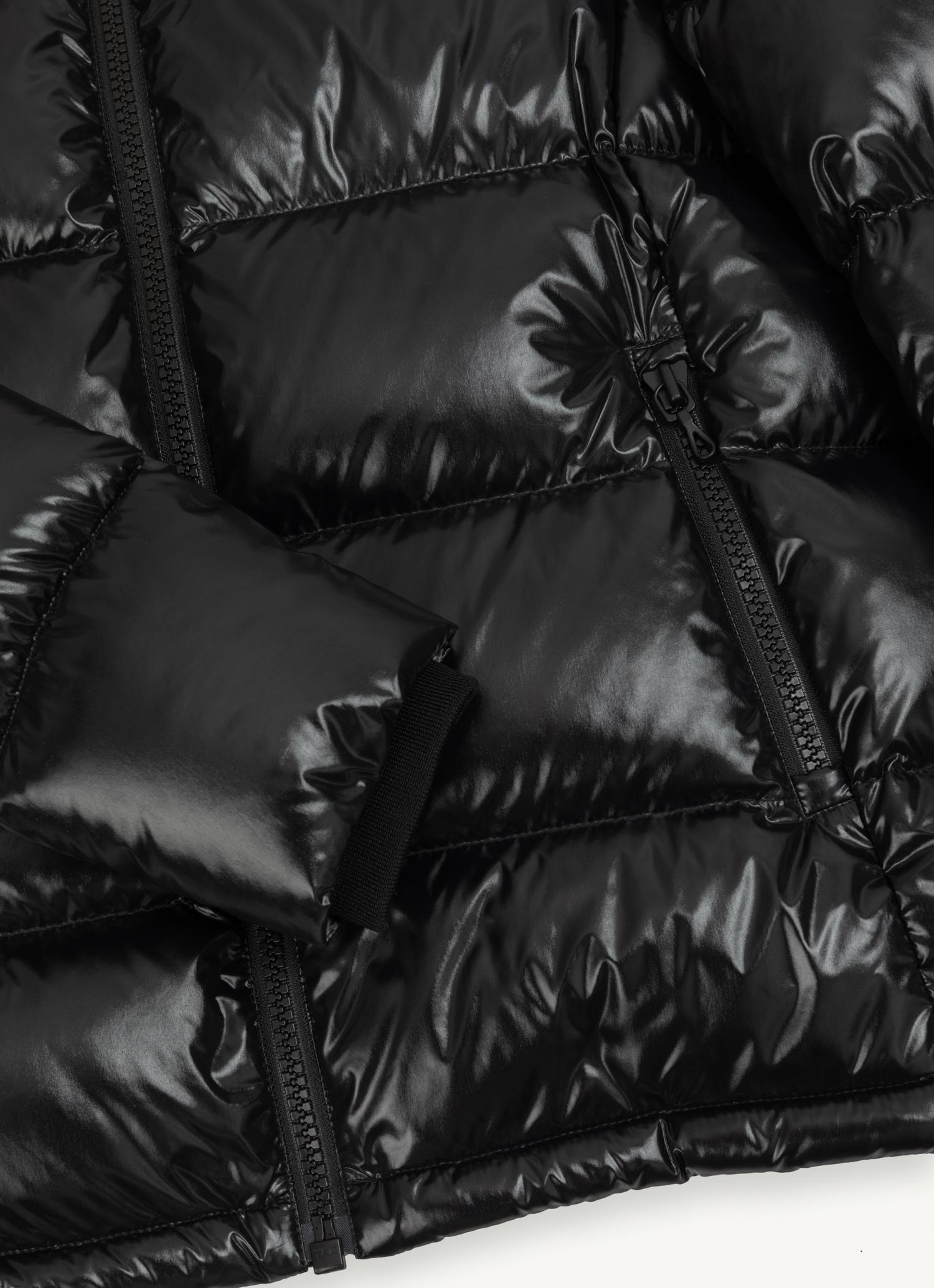 Piumino donna nero laccato Colmar | 2248R5TW99