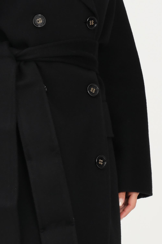 Cappotto donna Nero Elisabetta Franchi   CP33W16E2110