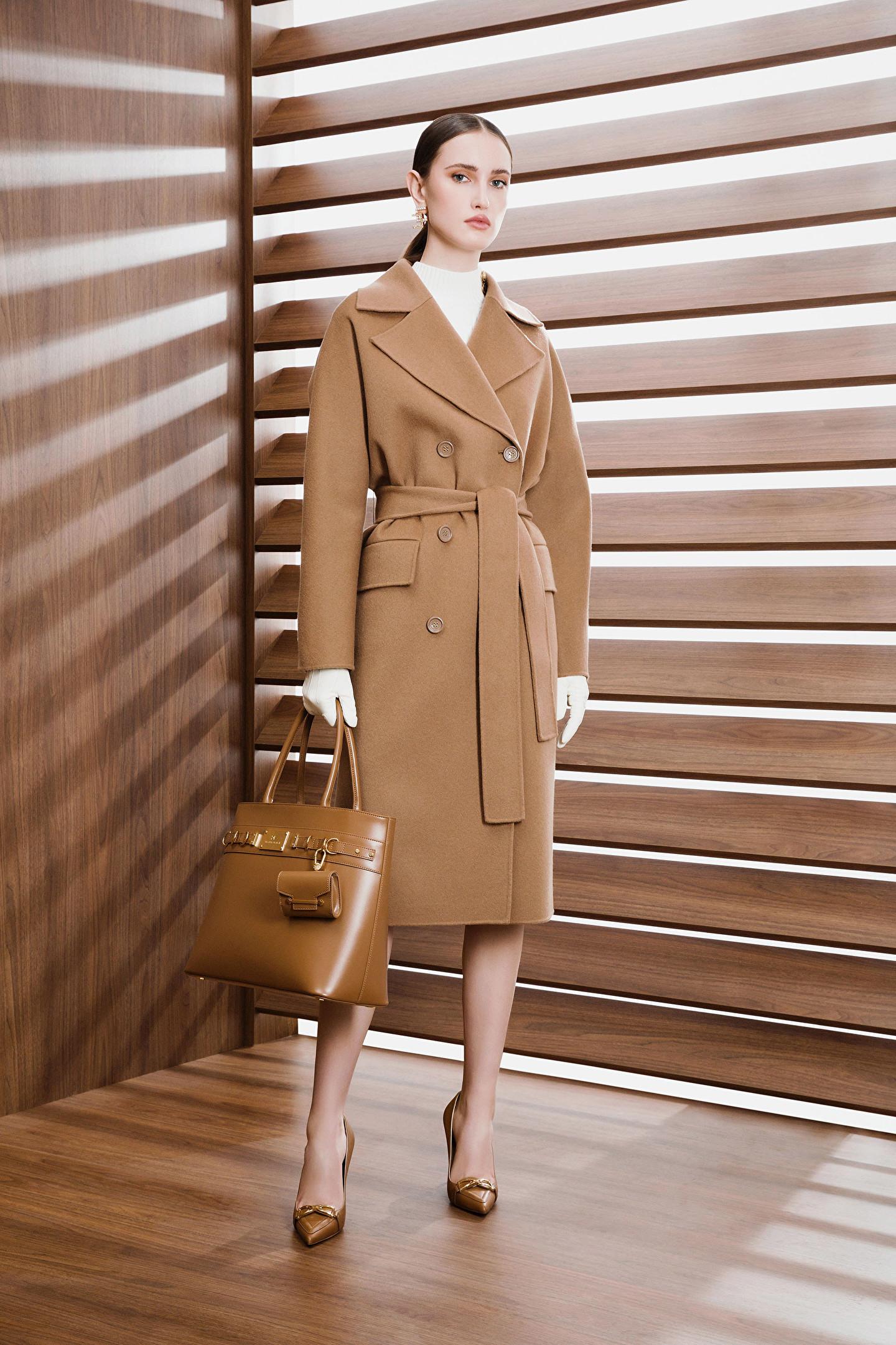 Cappotto donna marrone Elisabetta Franchi   CP33W16E2368