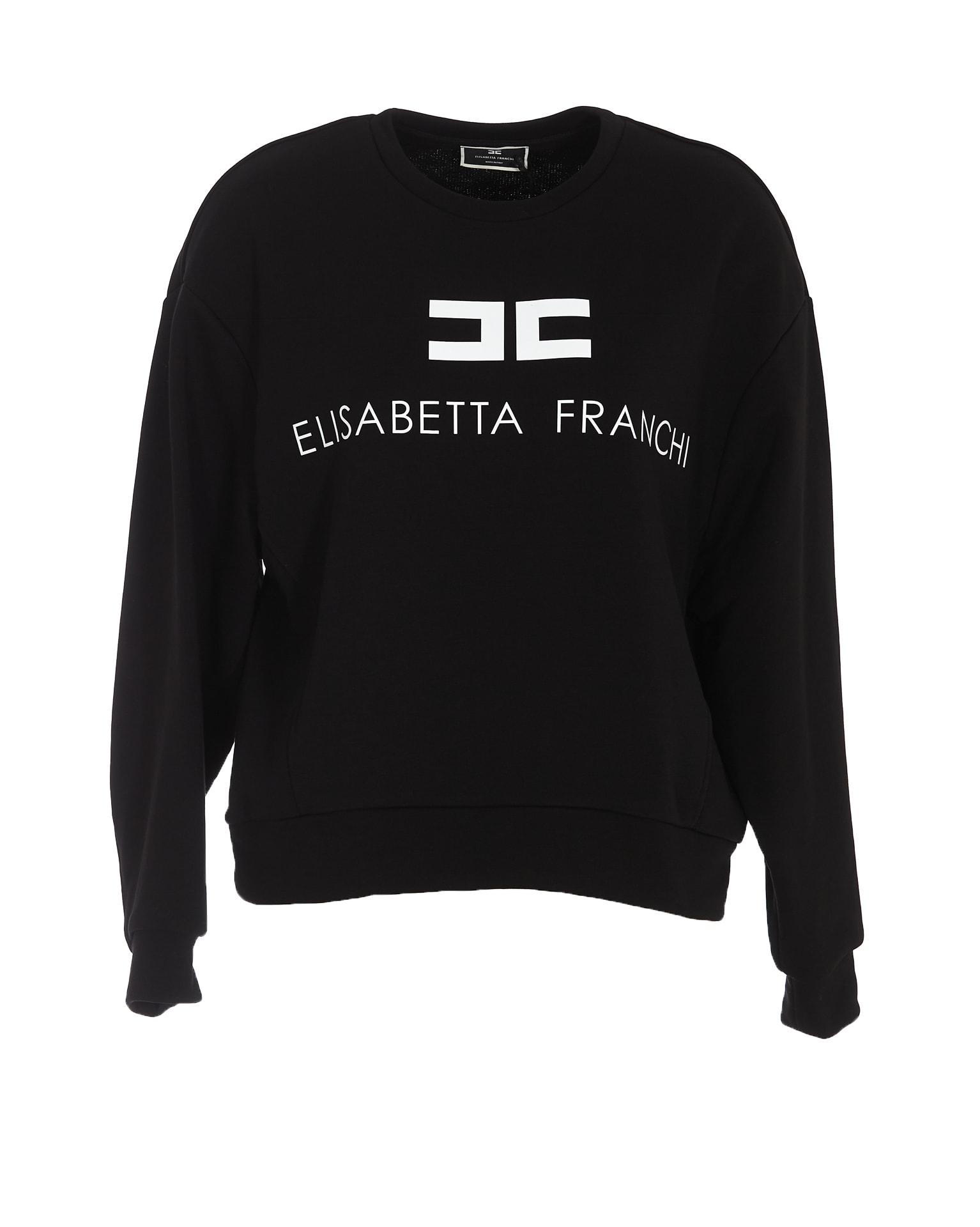 Felpa donna Elisabetta Franchi | MD00116E2685