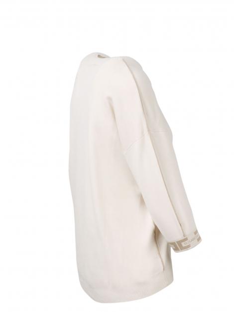 MAglia color burro Elisabetta Franchi   MK18S16E2U69