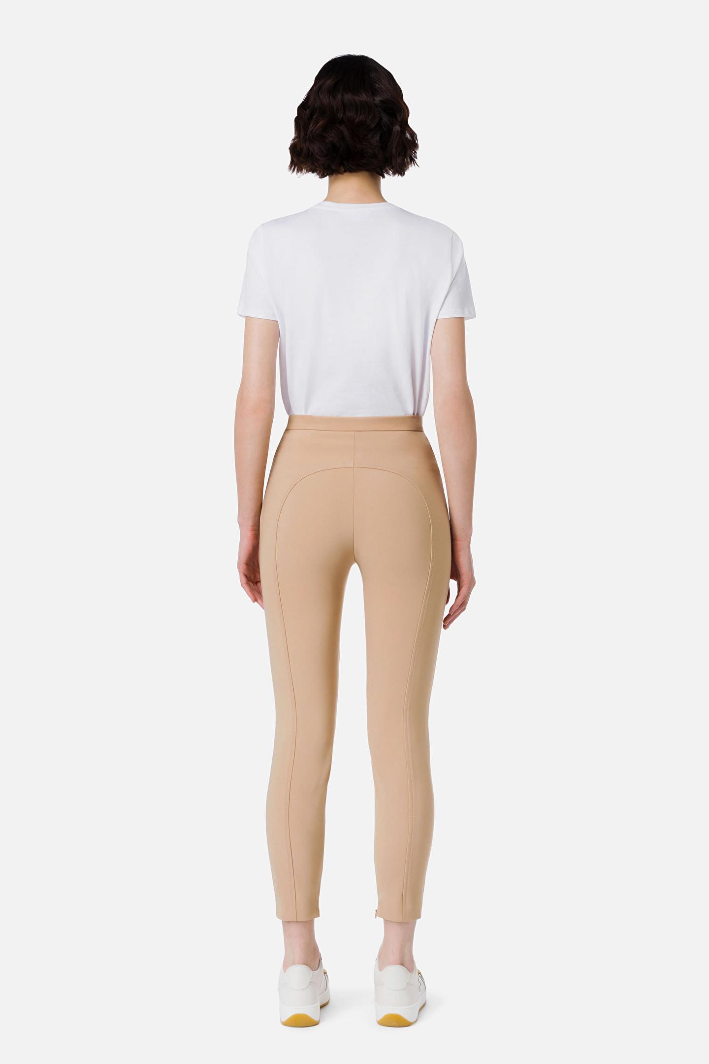 Pantalone aderente donna Elisabetta Franchi   PA00616E2043