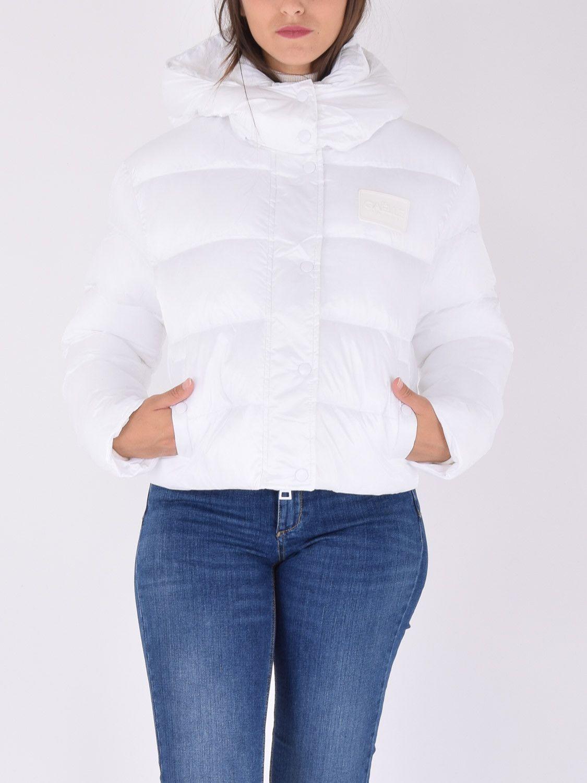 Piumino corto donna bianco Gaelle | GBD9702BIANCO