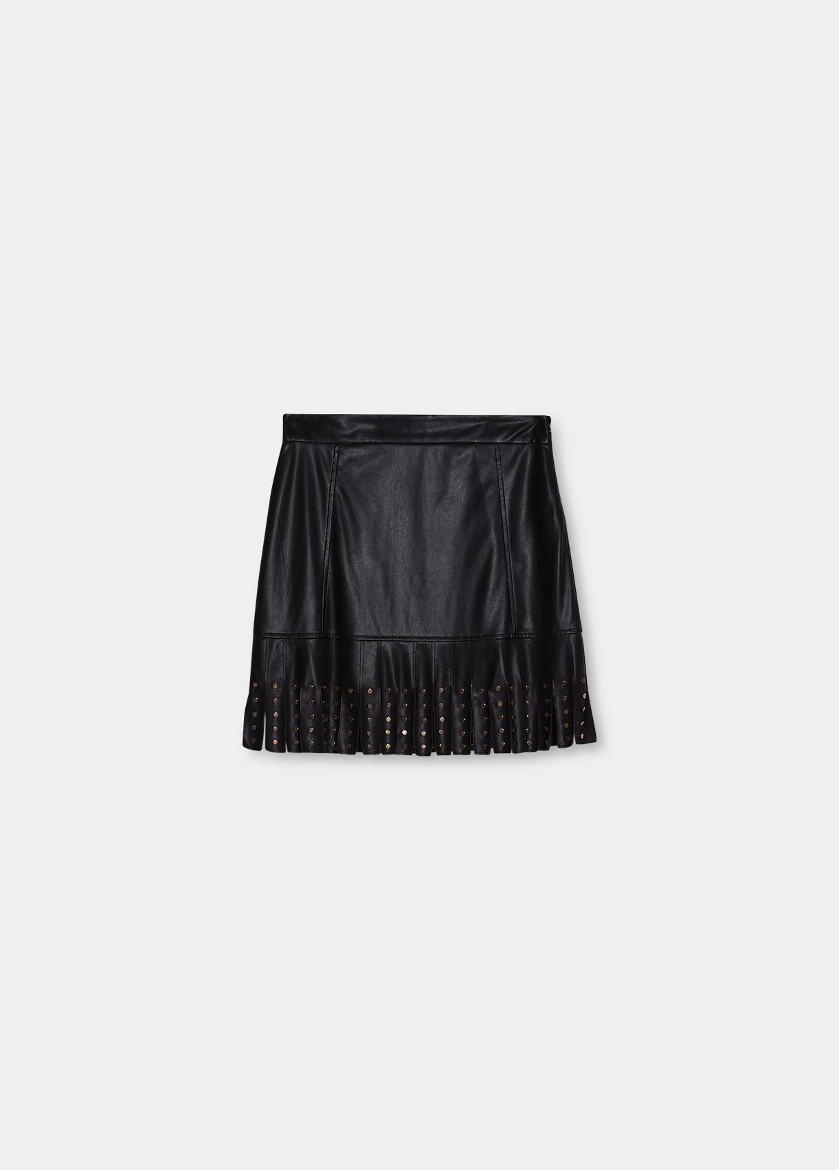 Minigonna donna nera Liu-Jeans   WF1100E039222222