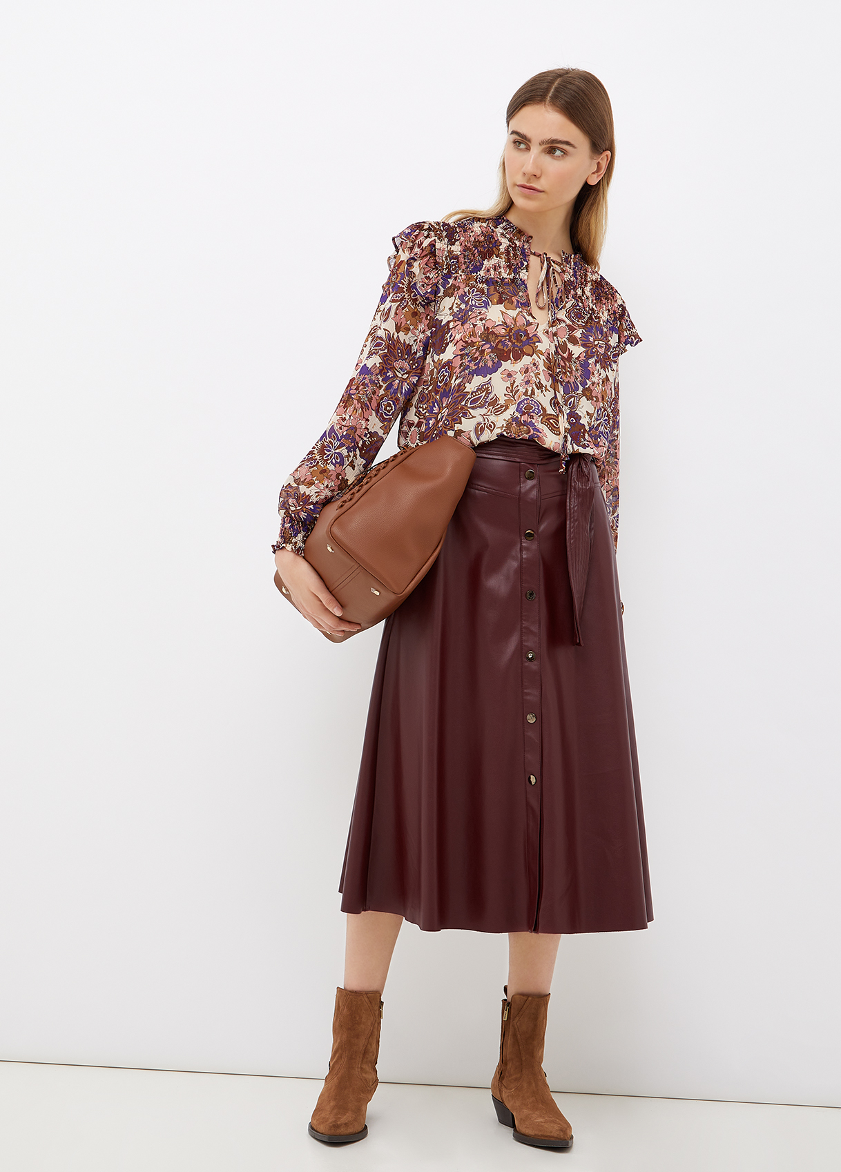 Blusa donna in fil coupé Liu-Jeans | WF1201T8726S9185