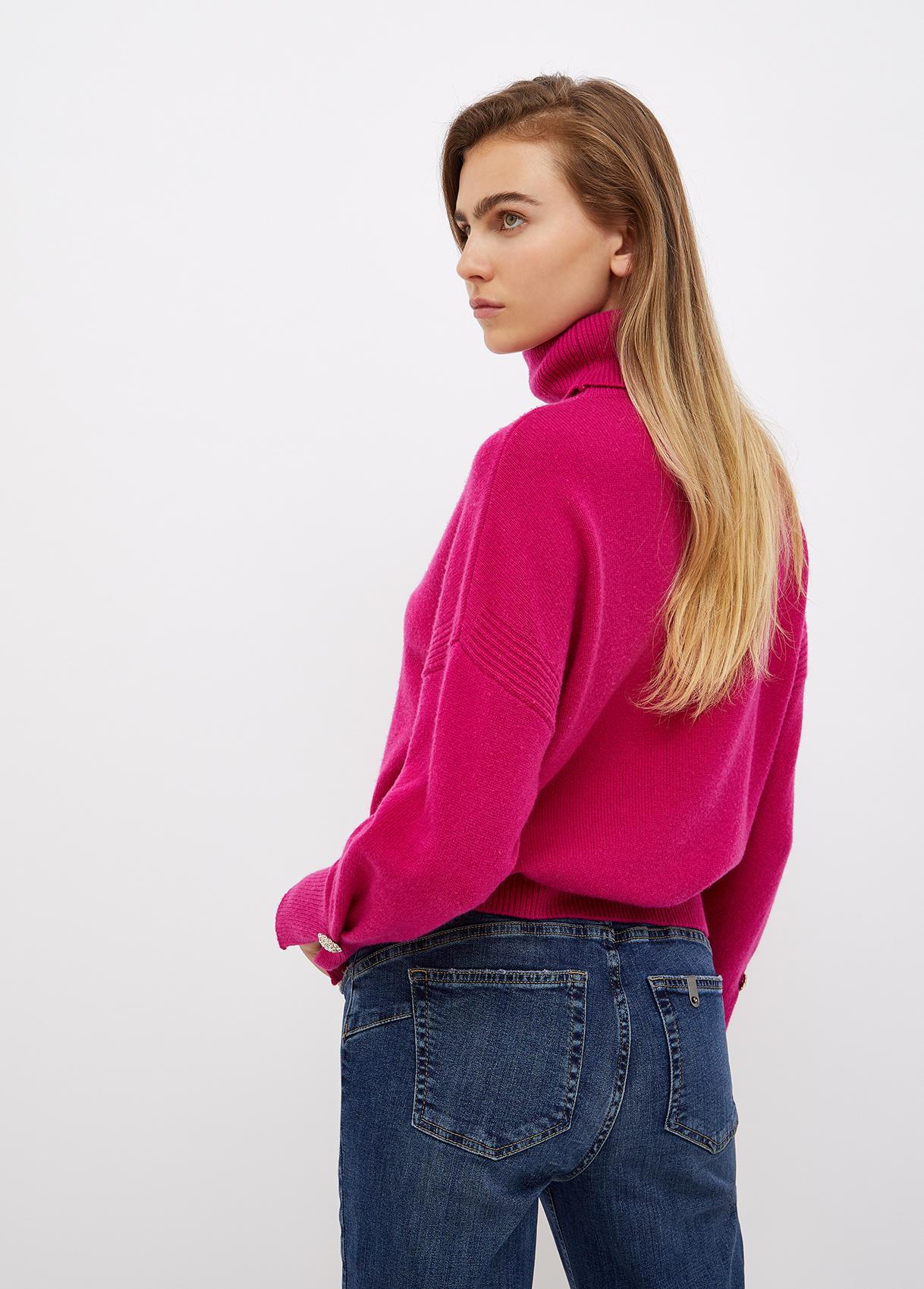 Dolcevita donna fucsia Liu-Jeans | WF1324MA72LX0394