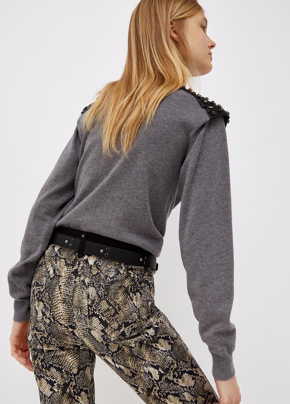 Dolcevita donna grigio scurop Liu-Jeans   WF1421MA82L02065