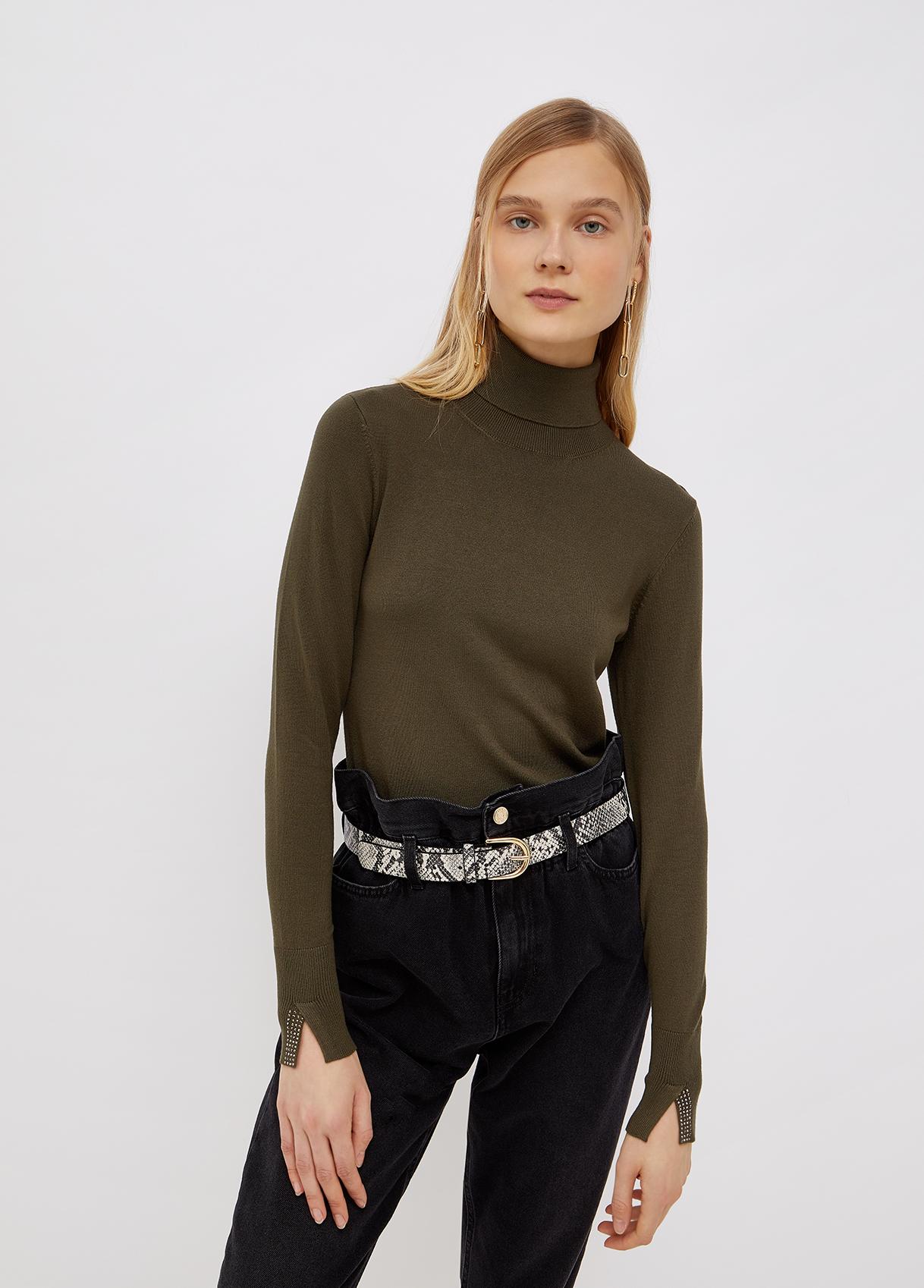 Dolcevita donna verde Liu-Jeans   WF1428MA49I90511