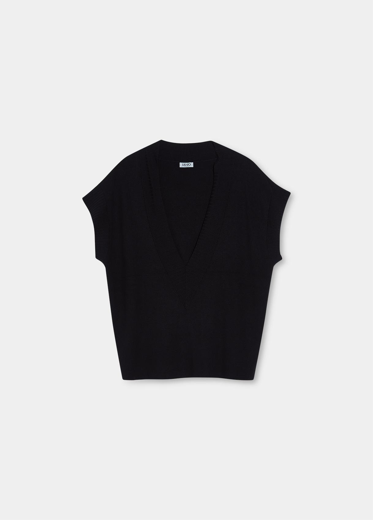 Gilet donna nero Liu-Jeans   WF1454MA49I22222