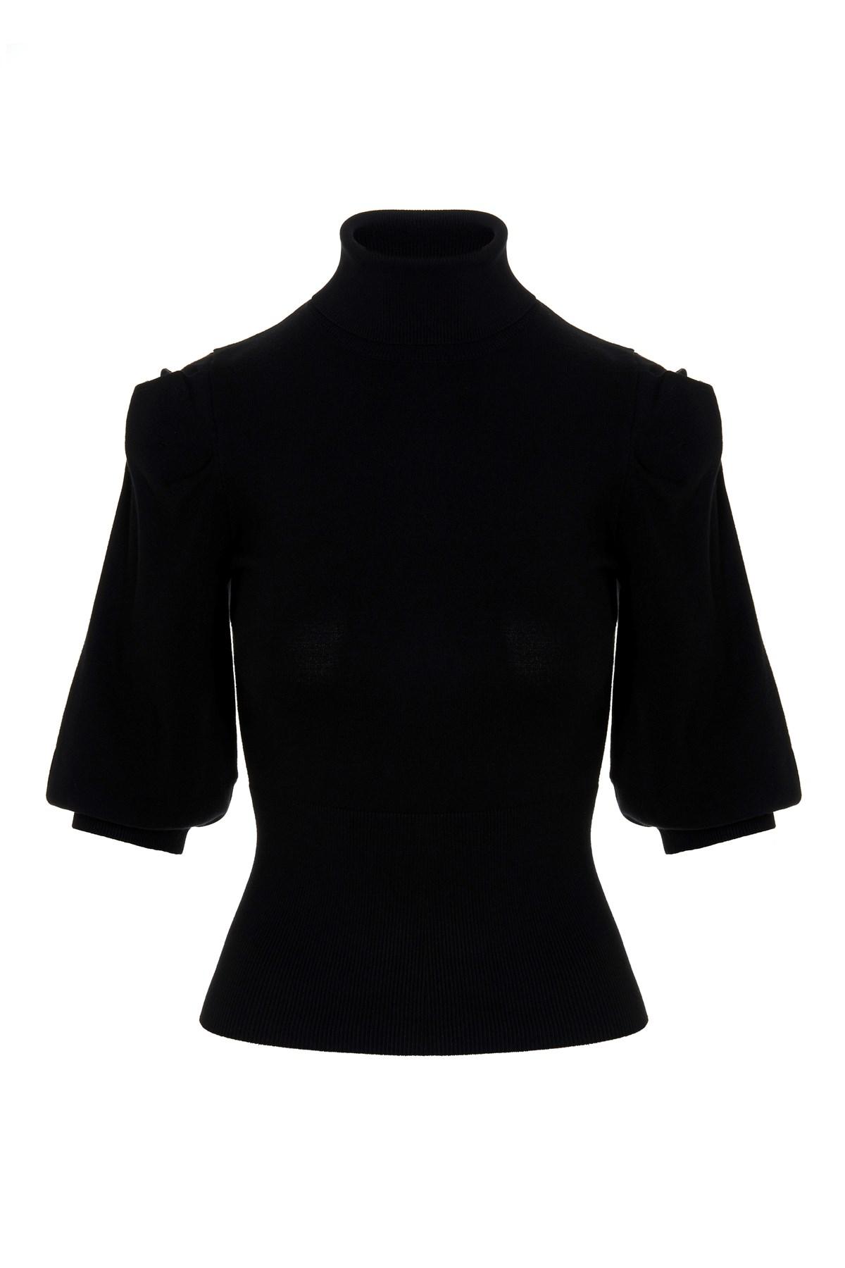 Dolcevita donna nero Liu-Jeans | WF1532MA49I22222