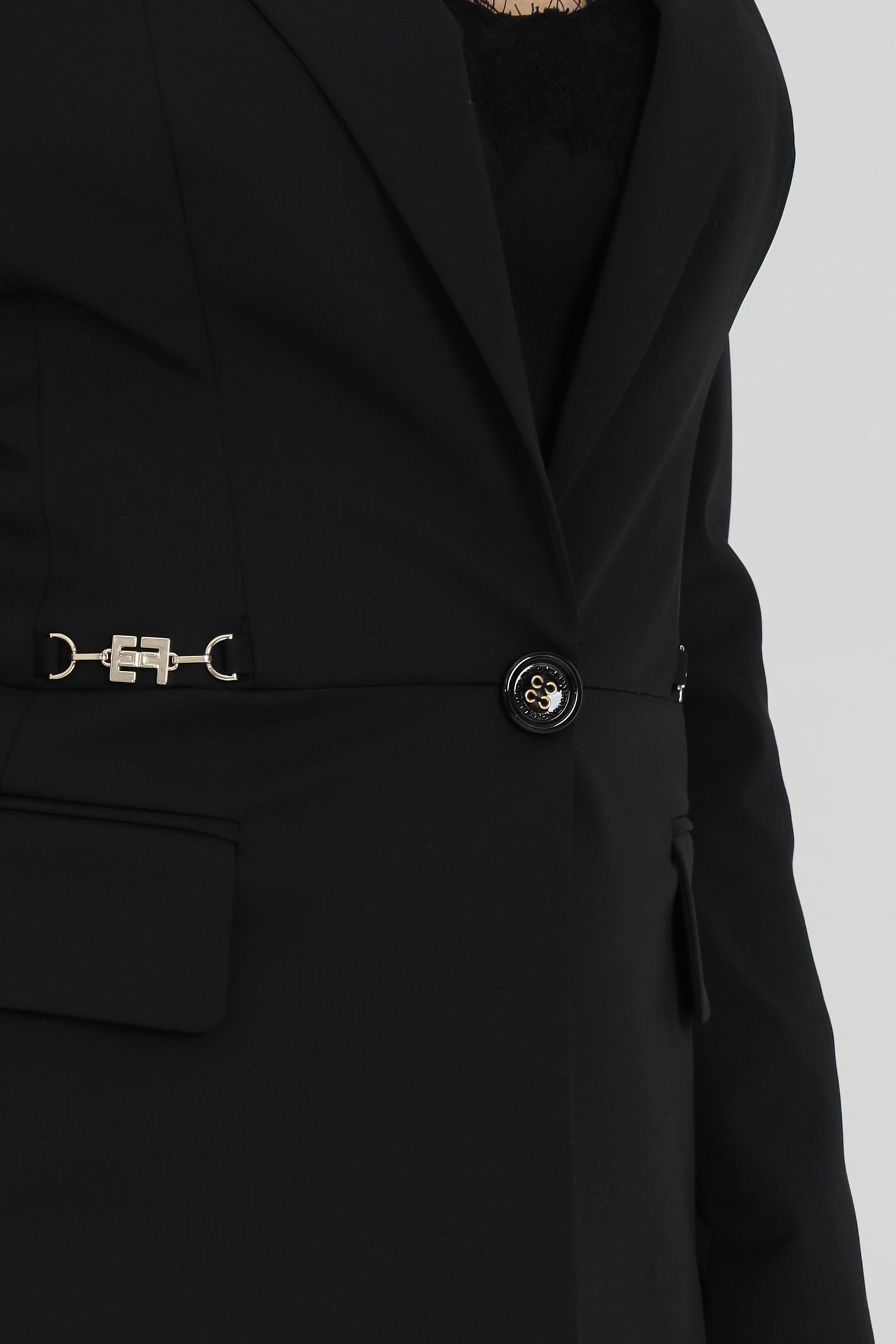 Giacca donna nera Elisabetta Franchi | GI96911E2110